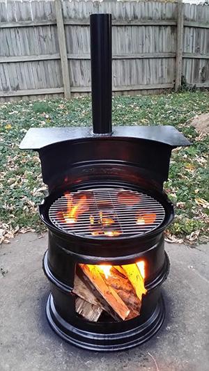 truck rim grill