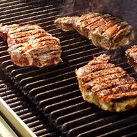 Steak on ManGrates