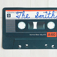 Cassette Tape door mat